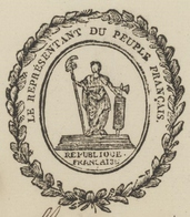 Héraldique Colmar An 2 - 18.5.1794  Les Représentants Du Peuple Près Des Armés Rhin Et Moselle Sigt..Foussedoire - Historische Documenten
