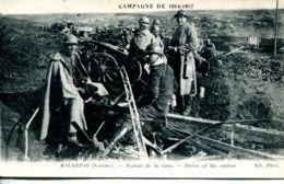 N°462 T -cpa Maurepas -ruines De La Gare- - Guerra 1914-18