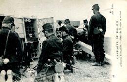 N°464 T -cpa Campagne 1914/15 -pièce De 75 M/m En Action - Matériel