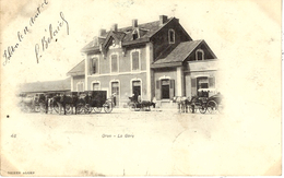 48 - ORAN -la Gare - Ed. Geiser - Oran