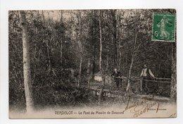 - CPA VERDELOT (77) - Le Pont Du Moulin De Boucard 1908 - Edition Bonneau - - Frankrijk