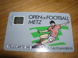 Telecarte 50u Privee D193 D 193 Open De Football De Metz TTB Peut Etre Neuve - Francia