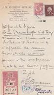 DOCUMENTO CERTIFICATO MEDICO - BERGAMO - MEDICO CHIRURGO - ASSISTENTE OSPEDALE MAGGIORE SPECIALISTA MALATTIE TUBO - Historische Dokumente