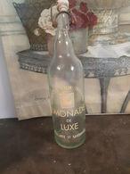 Ancienne Bouteille De Limonade De  Tregastel Entrepôt ROUX - Soda