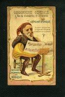 Cordonnerie  Saint Etienne - Le Point D'orgue - Notions Musique - 11 617 - Chromos