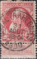 "(57) COB/OBP 74 ""LEVAL-TRAHEGNIES"" +8 - 1905 Breiter Bart"