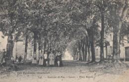CPA - Lescar - Place Royale - Environs De Pau - Lescar