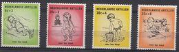 Netherlands Antilles - CHILDREN 1961 MNH - Curaçao, Nederlandse Antillen, Aruba