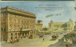 ROMA  - HOTEL CAMPIDOGLIO - CORSO UMBERTO I - 1910s ( 3791 ) - Bares, Hoteles Y Restaurantes