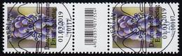 3447 Traubenhyazinthe 120 Cent, Paar Mit Nr., Codierfeld, Ohne Nr., ESSt Berlin - BRD