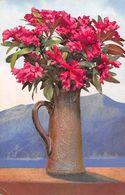 Pot De Rhododendrons - Lac - Montagne - Flores