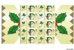 GREAT BRITAIN CHRISTMAS 2000 SMILERS SHEETS - 1952-.... (Elizabeth II)