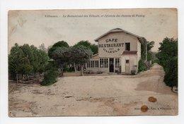 - CPA VILLENNES (78) - Le Restaurant Des Tilleuls Et L'Entrée Du Chemin De Poissy - Edition Mme Mirgon - - Villennes-sur-Seine