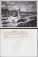 """CONGO BELGE PHOTOS E.LEBIED(24X18 Cm) 1945 """"PECHEUR INDIGENE WAGENIA""""  (7G) DC-5218 - Afrika"""