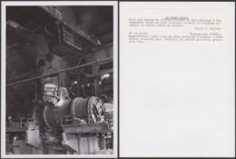 """CONGO BELGE PHOTOS E.LEBIED (24X18 Cm) 1946 """"USINE DE L UNION MINIERE DU HAUT-KATANGA (7G) DC-5223 - Afrique"""