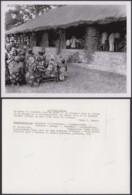 """CONGO BELGE PHOTOS C.LAMOTE (24X18 Cm) 1950 """" MESSE DU DIMANCHE  """" (7G) DC-5226 - Afrika"""
