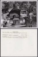 """CONGO BELGE PHOTOS C.LAMOTE (24X18 Cm) 1950 """" VOITURE"""" (7G) DC-5228 - Afrique"""