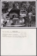 "CONGO BELGE PHOTOS C.LAMOTE (24X18 Cm) 1950 "" VOITURE"" (7G) DC-5228 - Afrika"