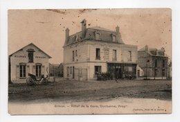 - CPA BRÉVAL (78) - Hôtel De La Gare, Duchesne - Edition Duchesne - - France