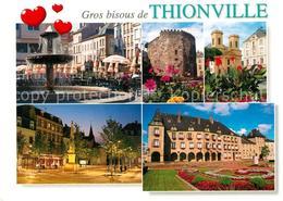 13607155 Thionville Place Du Marché Tour Aux Puces Eglise Saint Maximin Place De - Thionville