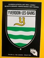 60070 - Yverdon-les-Bains Armoiries Ecusson Autocollant - VD Vaud