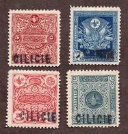 Cilicie  Taxe N°1/4 N* TB Cote 155 Euros !!! - Unused Stamps