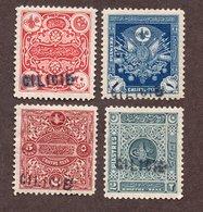 Cilicie Taxes N°5/8 N* TB Cote 160 Euros !!! - Unused Stamps