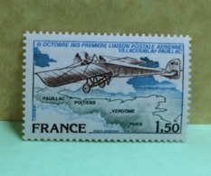 France (Poste Aérienne) 1978 - Neuf (Y&T N°51 PA) - Coté 1€ - 1960-.... Postfris