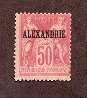 Alexandrie N°14 N* (rousseur) TB Cote 189 Euros !!!RARE - Nuevos