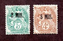 Alexandrie N°35,39 N*  TB Cote 33 Euros !!!RARE - Alexandria (1899-1931)