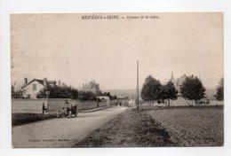 - CPA MÉZIÈRES-SUR-SEINE (78) - Avenue De La Gare - Collection Vavasseur - - Francia
