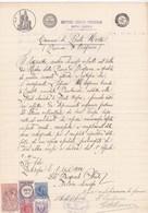DOCUMENTO IN CARTA BOLLATA L.1 -  COMUNE DI PONTE NOSSA (BERGAMO) DOTTORE  MEDICO CHIRURGO OBERTO PASQUALE - Documenti Storici