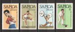 Samoa 1982 Mi 486-489 MNH SPORTS - Samoa