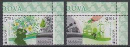 Europa Cept 2016 Moldova 2v (corners) ** Mnh (45447A) - Europa-CEPT