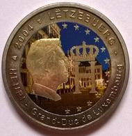Luxembourg - 2 Euros Couleurs - 2004 - Grand Duc Henri - Luxemburgo