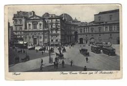 1918 - NAPOLI PIAZZA TRENTO E TRIESTE GIA' S FERDINANDO ANIMATA 1935 - Napoli (Naples)