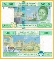 Central African States 5000 Francs Chad (C) P-609C 2002 UNC - Stati Centrafricani