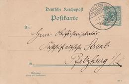 France Alsace Entier Postal Rappoltsweiler 1892 - Poststempel (Briefe)