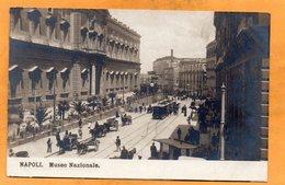 Napoli Italy 1908 Real Photo Postcard - Napoli