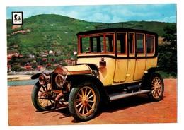 POSTAL OLD POST CARD COCHE CAR VOITURE AUTO COCHES DE ÉPOCA LORRAINE DIETRICH 1911 BERLINA VIAJE FRANCIA FRANCE VE FOTOS - Postales