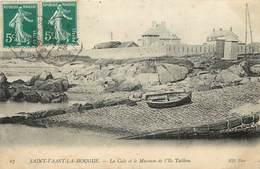 SAINT VAAST LA HOUGUE - La Cale Et Le Museum De L'île Tatihou. - Saint Vaast La Hougue