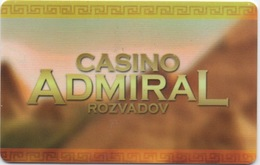 Carte De Casino : Casino Admiral Rozvadov - Cartes De Casino