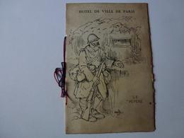 PROGRAME A L'OCCASION DE LA REMISE DES EPEES D'HONNEUR A MM. LES MARECHAUX JOFFRE,FOCH,PETAIN LE 13 JUILLET 1919 - Programma's