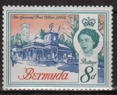 Bermuda Elizabeth II 1962 Single 8d Stamp From The Definitive Set. - Bermuda