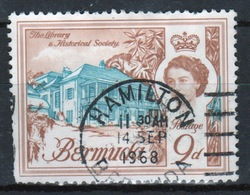 Bermuda Elizabeth II 1962 Single 9d Stamp From The Definitive Set. - Bermuda