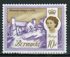 Bermuda Elizabeth II 1962 Single 10d Stamp From The Definitive Set. - Bermuda