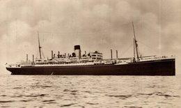 SHAW SAVILL LINE  ARAWA - Steamers