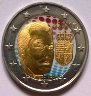 Luxembourg - 2 Euros Couleurs - 2010 - Les Armes Du Luxembourg - Luxemburgo