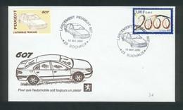 Sochaux  Lancement De La Peugeot 607 Le 15 Mai 2000 - Automobili