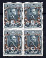 Sello Nº 359  En Bloque De 4. España - 1889-1931 Kingdom: Alphonse XIII